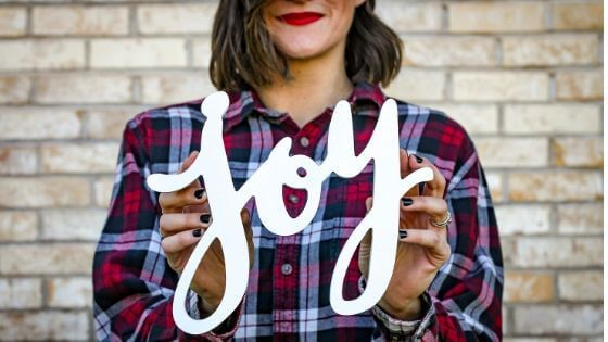 My strength comes from the joy of the Lord – Jacob's Ladder